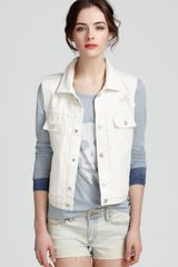 Marc By Marc Jacobs Vest Denim Alexa - Lyst