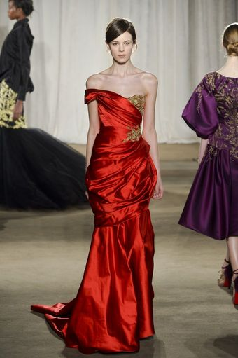 Marchesa Fall 2013 Runway Look 26 - Lyst