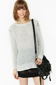 Nasty Gal Let Her Rip Knit - Lyst