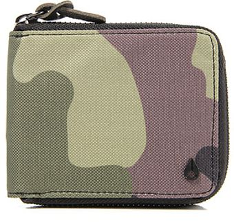 Nixon The Premier Bifold Zip Coin Wallet in Woodland Camo - Lyst