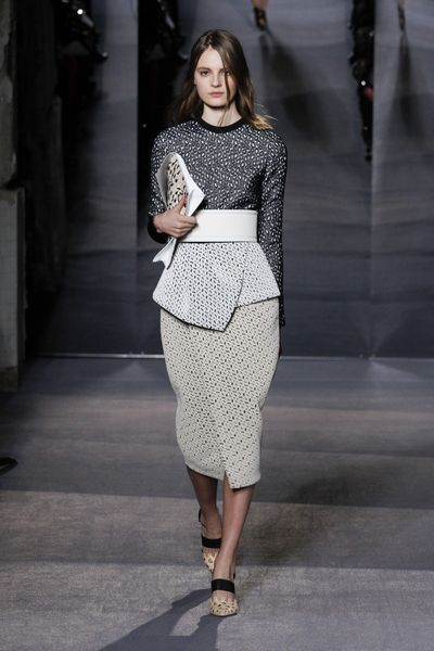 Proenza Schouler Fall 2013 Runway Look 33 in  - Lyst