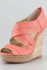 Seychelles Risky Business Wedge Sandals - Lyst