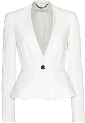 Burberry Kingsley Tailored Blazer - Lyst