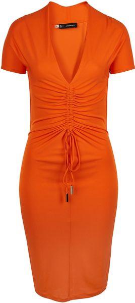 Dsquared 178 Dress Orange In Orange Lyst