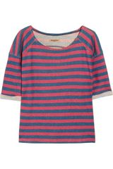Levi's Striped Cotton-Terry Sweater - Lyst