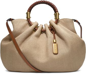 Michael Kors Skorpios Canvas Ring Tote - Lyst