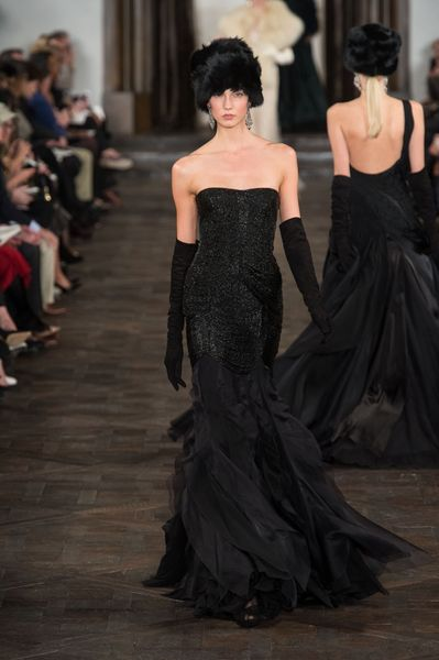 Ralph Lauren Fall 2013 Runway Look 57 in  - Lyst