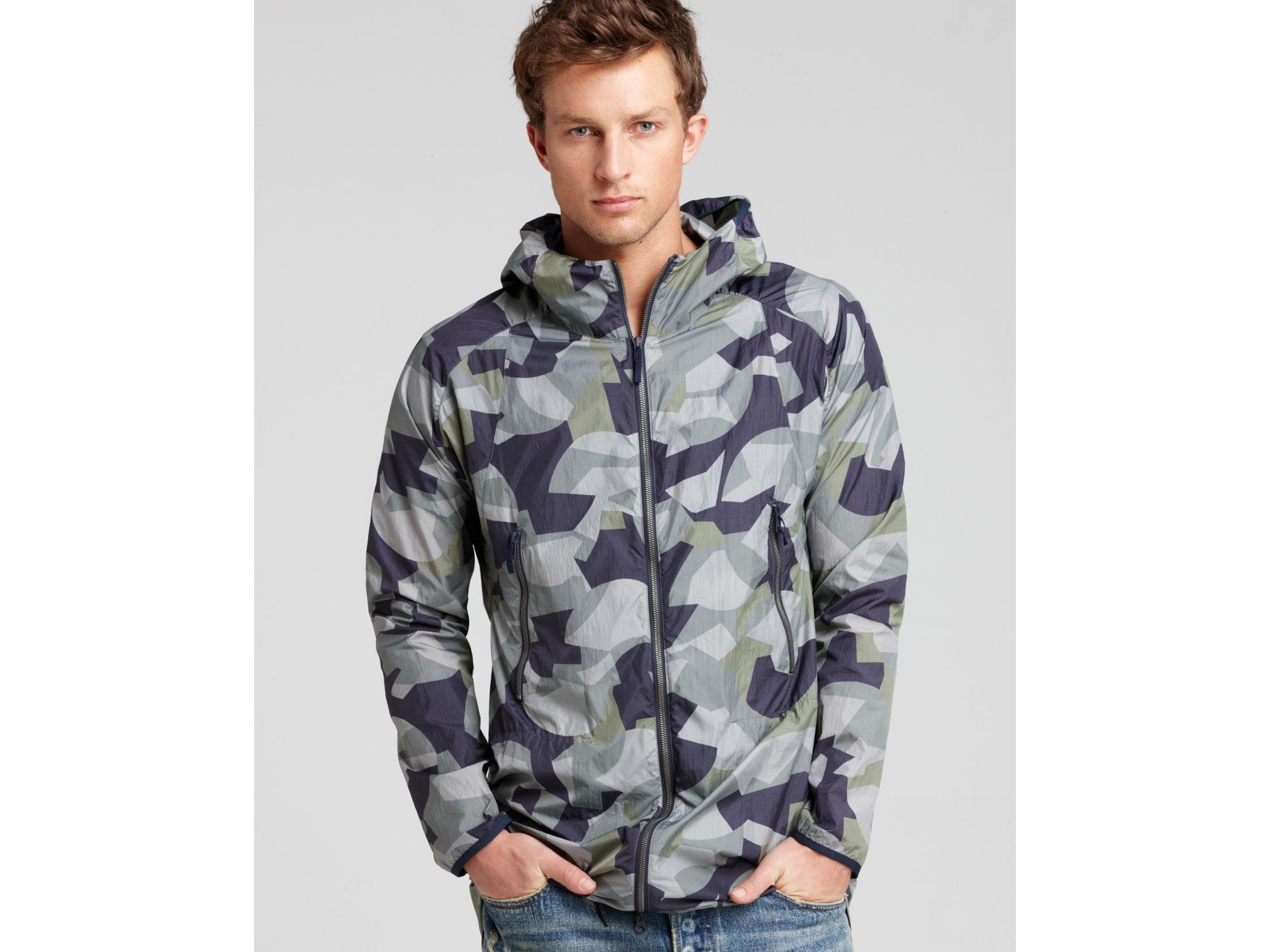 Theory 38 Strikt L Camo Lightweight Jacket for Men | Lyst