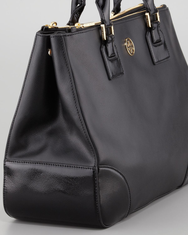 2553501b97fd Tory Burch Tote Bag Black - The Best Blazer And Bag Woman
