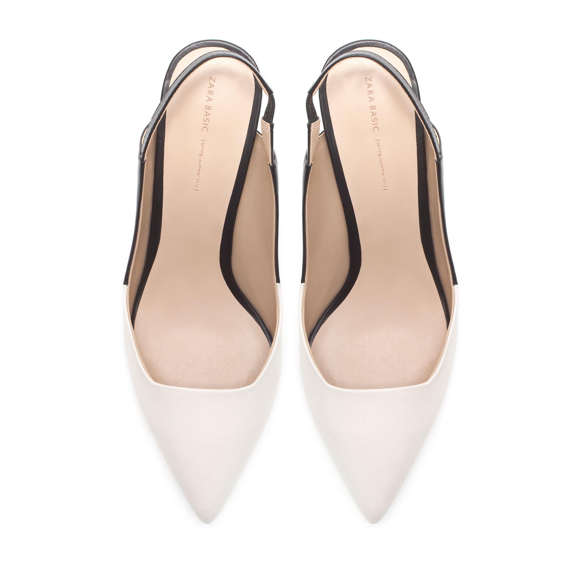 Zara Kitten Heel Shoes
