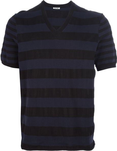 Acne Studios Dalton T-Shirt in Blue for Men