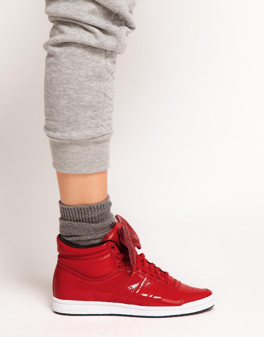 Adidas Top Ten Hi Sleek Bow Zip Trainers