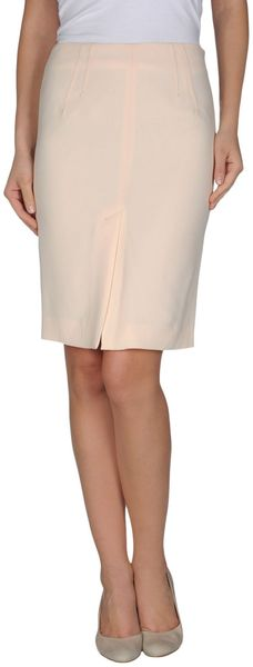 Laltramoda Knee Length Skirts - Lyst