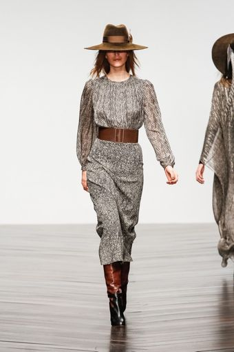 Issa Fall 2013 Runway Look 3 - Lyst