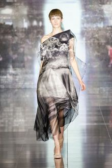 Mary Katrantzou Fall 2013 Runway Look 30 - Lyst