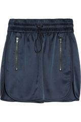 Alexander Wang Drawstring Track Mini Skirt