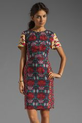 Antik Batik Aron Pencil Dress in Fuchsia - Lyst
