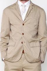 Apolis Standard Issue Civilian Blazer in Khaki in Khaki for Men - Lyst