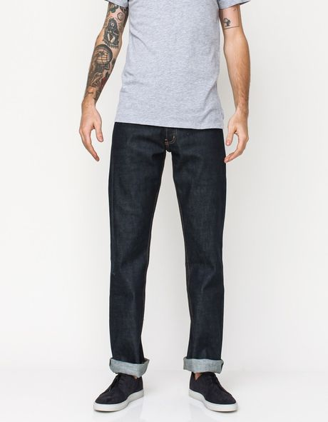 Apolis Standard Issue Selvedge Denim in Blue for Men (raw indigo)