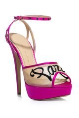 Charlotte Olympia Paris Satin Shoes - Lyst