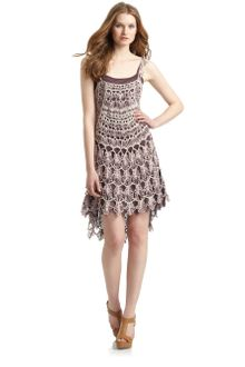 Free People Crochet Dress - Lyst