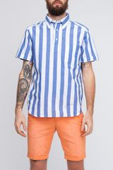 Gant Rugger Sunset Madras Stripe Pullover - Lyst