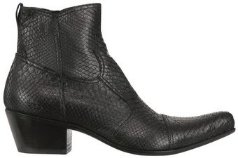 Gianni Barbato Python Low Boots - Lyst