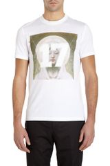 Givenchy 17 Virgin Mary Graphic Tee in White for Men - Lyst