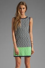 Juicy Couture Aquarius Geo Sleeveless Dress  - Lyst