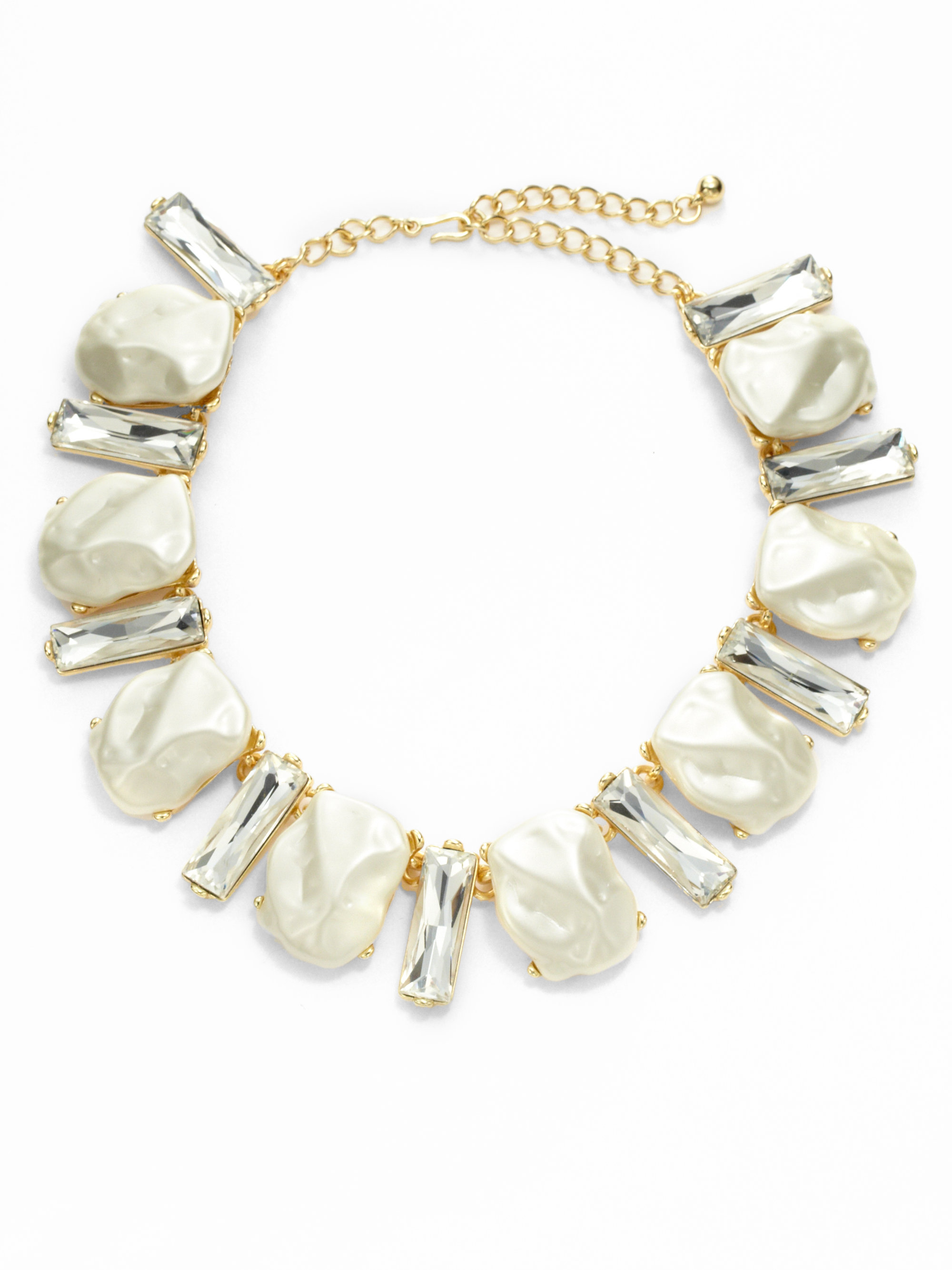 Womens Crystal Charm Choker Kenneth Jay Lane dNgW7