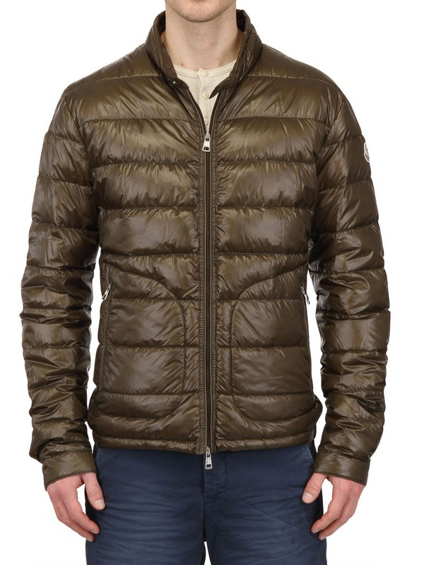 fd8c03898a61 Moncler Extra Light Nylon Down Jacket in Natural for Men - Lyst