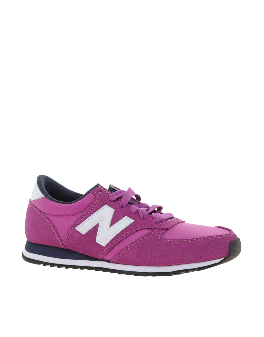 new balance 420 purple with pink
