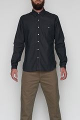 Oliver Spencer Button Pocket Shirt - Lyst