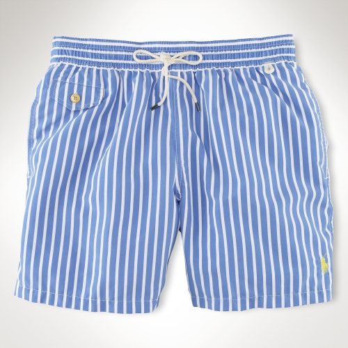 cabdb39e65 ... shorts 6ceb0 282ef; get lyst polo ralph lauren traveler 6 striped swim  short in blue for men dd704 98267