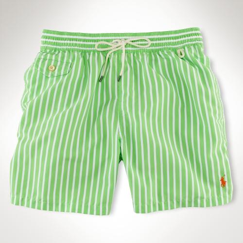 2260b3074a0e6 ... sweden lyst polo ralph lauren traveler 6 striped swim short in white  for men b58f5 578de