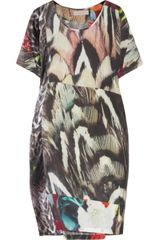 Preen Line Sylvie Printed Silk Dress - Lyst