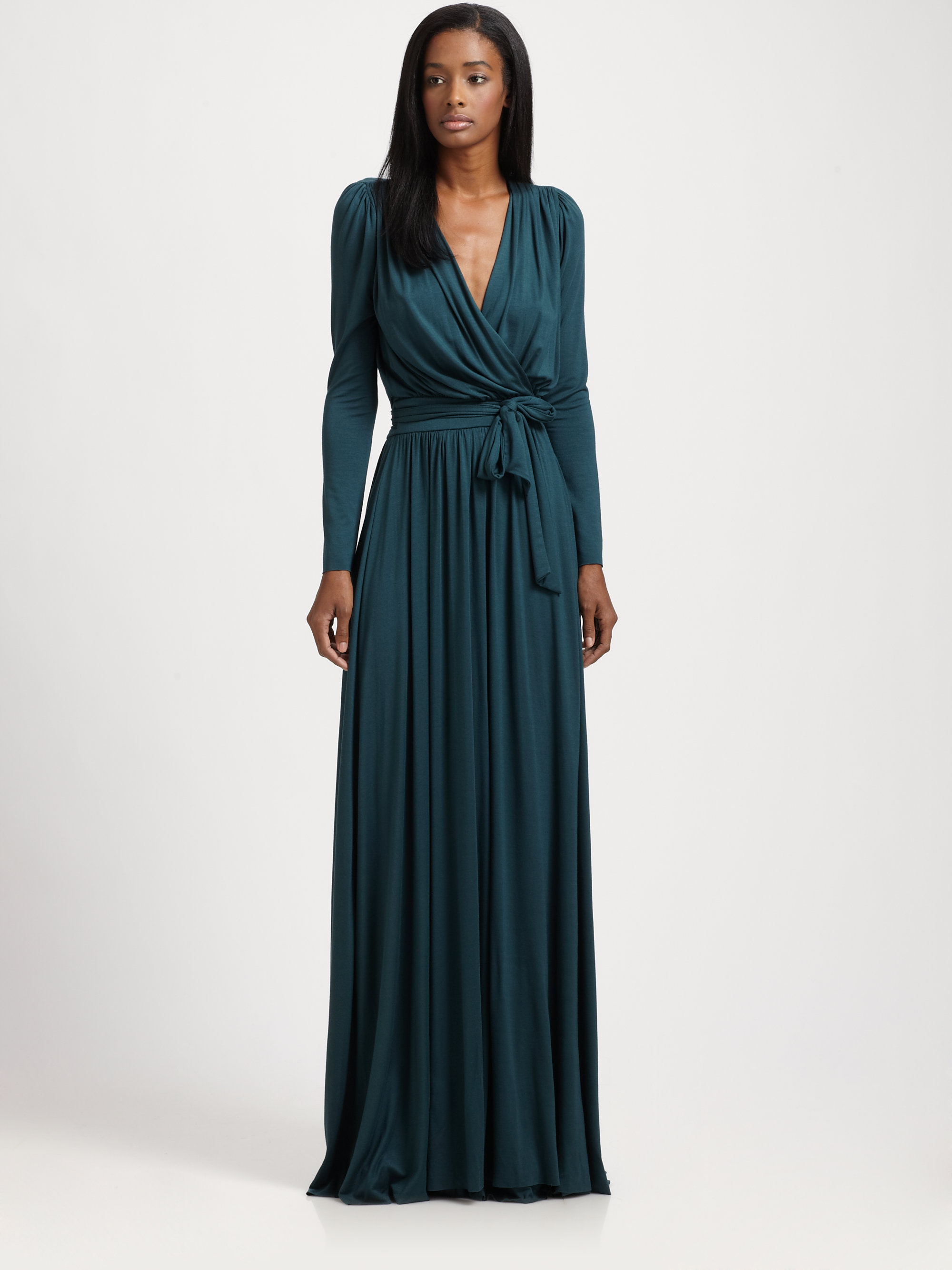 Rachel Pally Long Rocio Dress In Blue Topiary Lyst