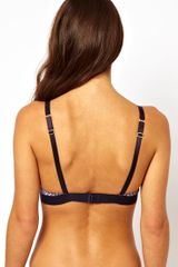 Stella Mccartney Marguerite Riding Soft Cup Bra in Purple (marquisdiamondprin) - Lyst