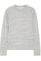 T By Alexander Wang Cottonblend French Terry Sweatshirt - Lyst