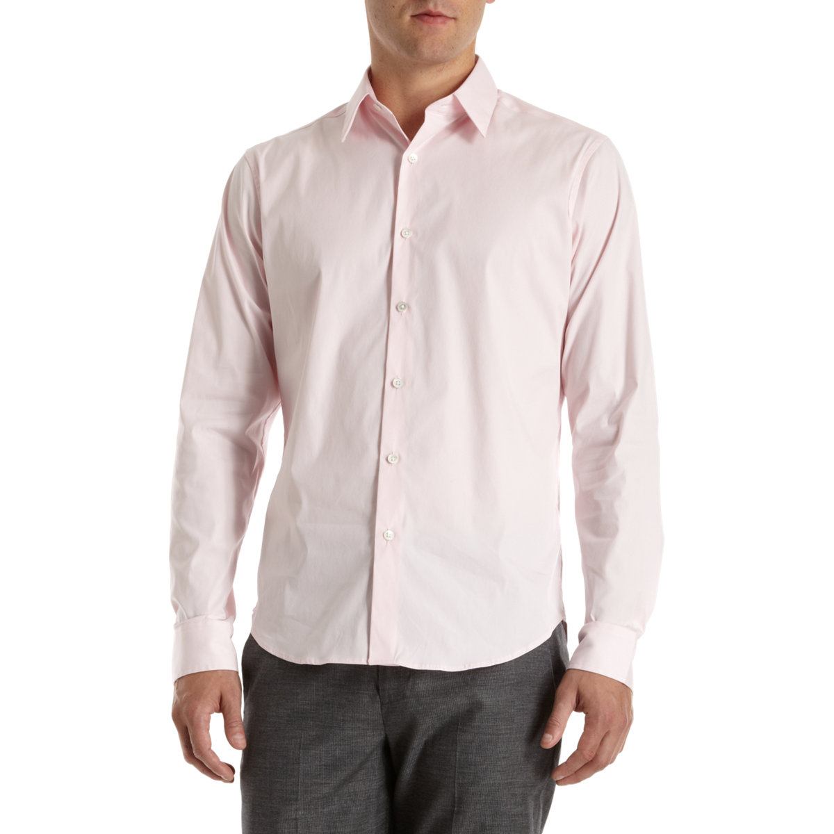 Theory Sylvain Shirt In Pink For Men Lyst