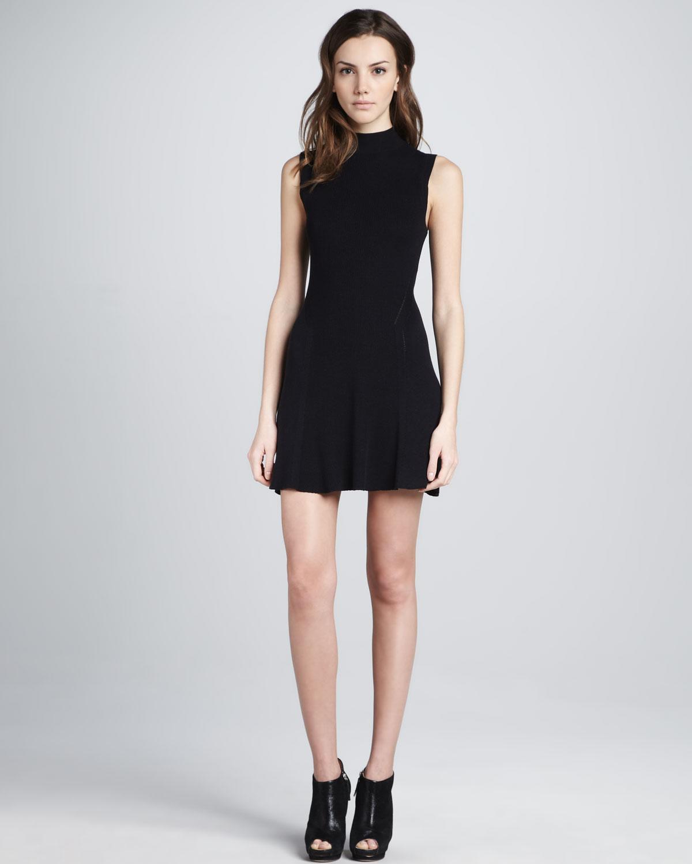 ea64ff4691f1 Lyst - Theyskens  Theory Kinda Sleeveless Sweater Dress in Black