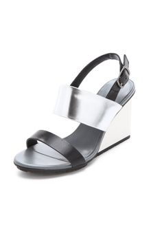 United Nude Solid Slingback Sandals - Lyst