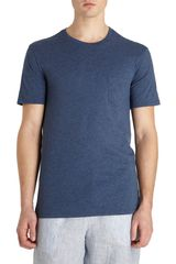 Vince Short Sleeve Crew-neck Pocket Tee - Lyst