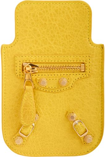 Balenciaga Arena Giant Gold Iphone - Lyst