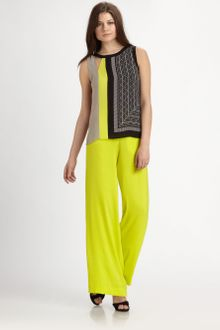 BCBGMAXAZRIA Elicia Asymmetric Sleeveless Top - Lyst