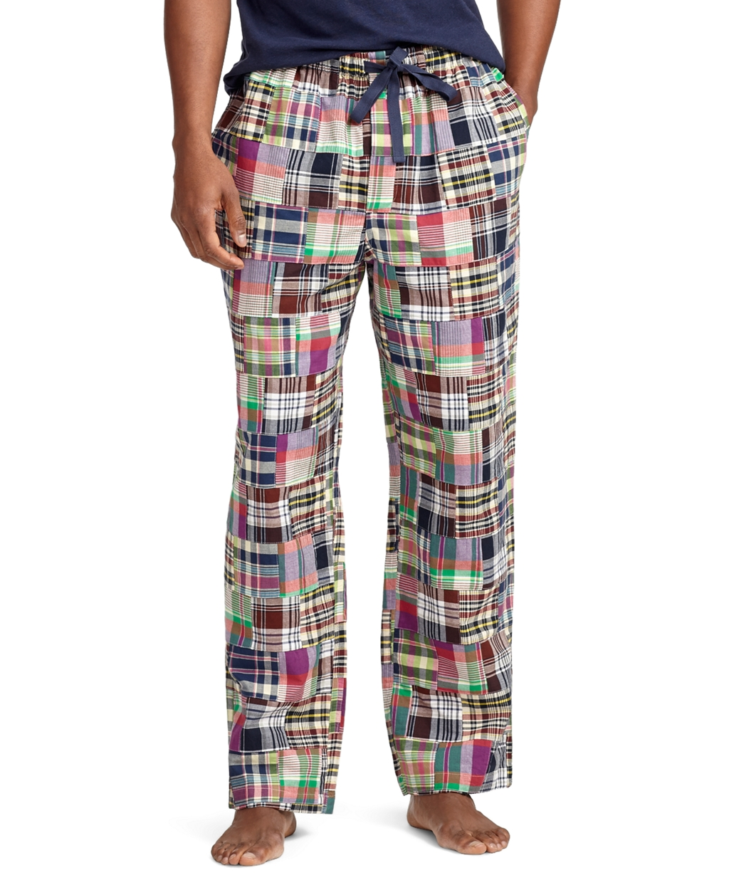 Brooks brothers Madras Patchwork Lounge Pants for Men | Lyst