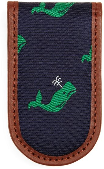 Brooks Brothers Whale Repp Magnetic Money Clip - Lyst