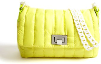 By Malene Birger Nylon Quilted Mahai Clutch - Lyst