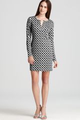 Diane Von Furstenberg Chain Print Dress - Lyst