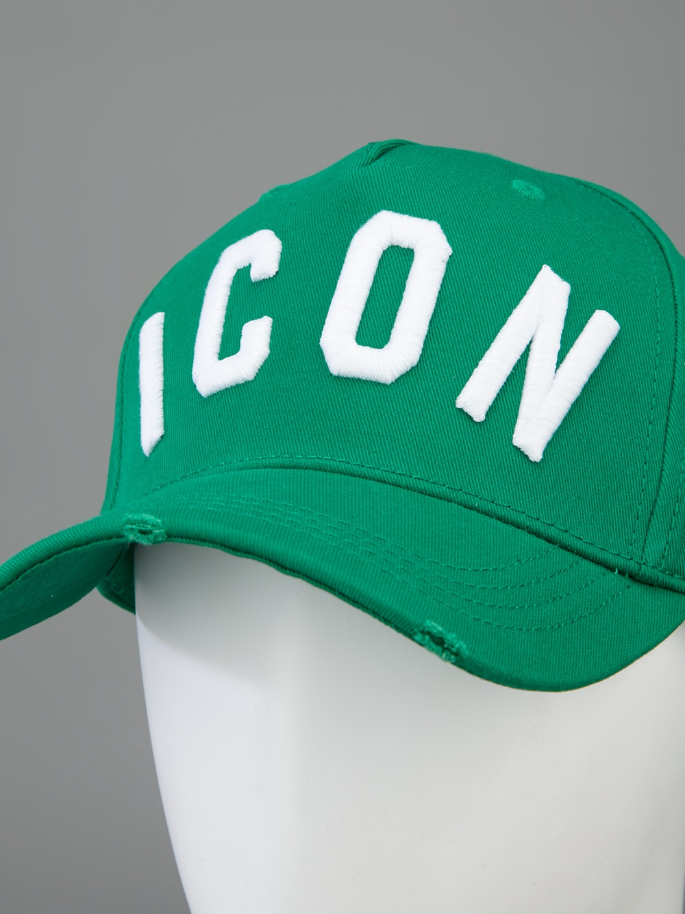 ICON baseball cap - Green Dsquared2 Ma7DR
